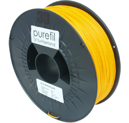 purefil of Switzerland PLA - Filament - Dahliengelb - 1.75mm - 1kg