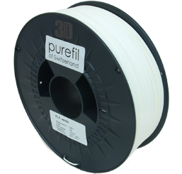 purefil of Switzerland PLA - Filament - Weiss - 1.75mm - 1kg