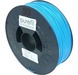 purefil of Switzerland - PLA - Filament - Hellblau - 1.75mm - 1kg