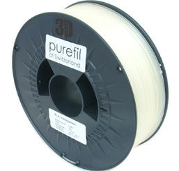 purefil of Switzerland PLA - Filament - Transparent - 1.75mm - 1kg