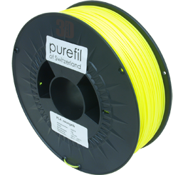 purefil of Switzerland PLA Neon - Filament - Gelb - 1.75mm - 1kg