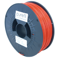 purefil of Switzerland PLA Neon - Filament - Rot - 1.75mm - 1kg