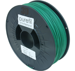 purefil of Switzerland - PLA - Filament - Grün - 1.75mm - 1kg
