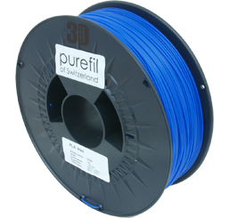 purefil of Switzerland PLA - Filament - Blau - 1.75mm - 1kg
