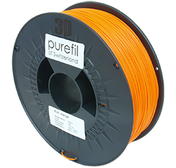 purefil of Switzerland PLA - Filament - Orange - 1.75mm - 1kg