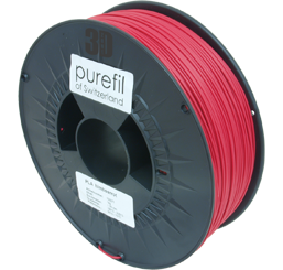 purefil of Switzerland PLA - Filament - Himbeerrot- 1.75mm - 1kg