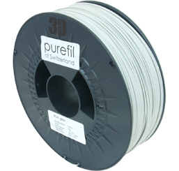 purefil of Switzerland - PLA - Filament - Hellgrau - 1.75mm - 1kg