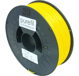 purefil of Switzerland PLA - Filament - Gelb - 1.75mm - 1kg