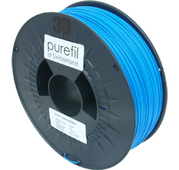 purefil of Switzerland - PLA - Filament - Himmelblau - 1.75mm - 1kg