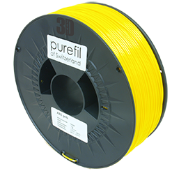 purefil of Switzerland ABS - Filament - Gelb - 1.75mm - 1kg