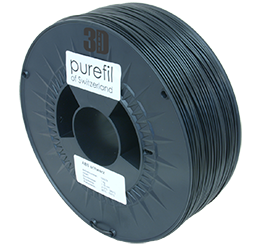 purefil of Switzerland ABS - Filament - Schwarz - 1.75mm - 1kg