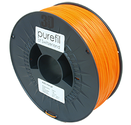 purefil of Switzerland ABS - Filament - Orange - 1.75mm - 1kg