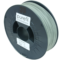 purefil of Switzerland PLA - Filament - Betongrau - 1.75mm - 1kg