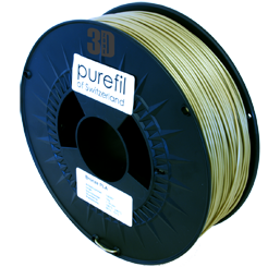 purefil of Switzerland Metal - Filament - Bronze - 1.75mm - 1kg