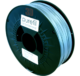 purefil of Switzerland Metal - Filament - Aluminium - 1.75mm - 1kg