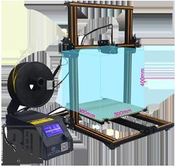 Creality CR-10-S - grossräumiger 3D Drucker