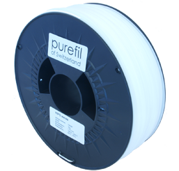 purefil of Switzerland HIPS - Filament - Weiss - 1.75mm - 1kg