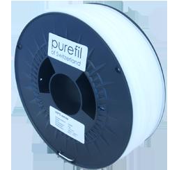purefil of Switzerland HIPS - Filament - Weiss - 1.75mm - 1kg