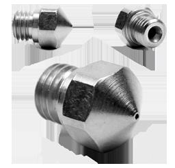 Micro Swiss - MK10 Düse - 0.5mm - TwinClad XT - Messing