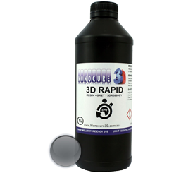 Monocure 3D Rapid Resin - 1000 ml - Grau - Transparent