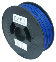 purefil of Switzerland PLA - Filament - Dunkelblau - 1.75mm - 1kg
