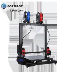 Formbot T-Rex 2+ 500 - Hochtemperatur-Dual-Extruder 3D-Drucker mit Lasergravierer