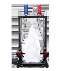 Formbot T-Rex 2+ 700 - Riesiger Hochtemperatur-Dual-Extruder 3D Drucker mit Lasergravierer