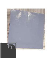 Silikon Pad - 100 x 100 x 1 mm - Selbsthaftend