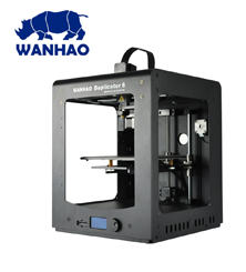 Wanhao Duplicator 6 Plus - inkl Abdeckungen - Dual Fan Version!