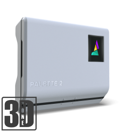 Palette 2 - Mehrfarbig und mit mehreren Materialien Drucken