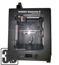 Wanhao Duplicator 6 - 3D-Zone Edition 2018 - Hohe Präzision und automatische Bettnivellierung